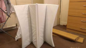 Kiddicare travel cot waterproof mattress