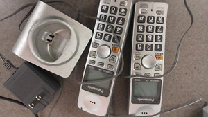 Cellular Home Phone with Panasonic Cordless Phone