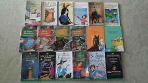 18 romans jeunesse Bilbo, courte échelle, Titan, Gulliver