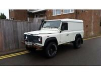 Land Rover Defender 110 2.5 TDI HARD TOP 1999 WHITE WINCH SNORKEL