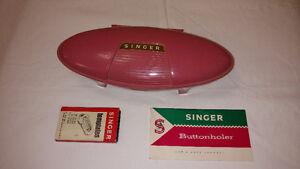 Buttonholer for vintage Singer sewing machine
