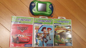 Leapster 2  +  3 Cartridges