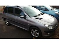 Peugeot 206 SW 1.4HDi XT DIESEL ESTATE ONLY £30 A YEAR TAX GOOD MPG