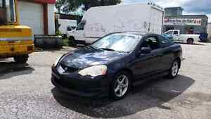 2004 Acura RSX safetied etested