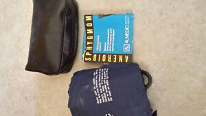 Stethoscope & manual blood pressure cuff