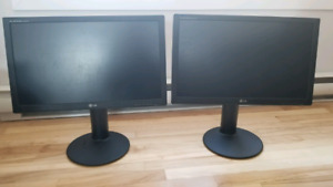 Moniteur lcd lg 24 full hd