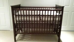 TWO CRIBS with 2 MATTRESSES AND BEDDING (included)
