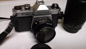 Asahi Pentax 1000 With Zoom Lens Excellent Condition