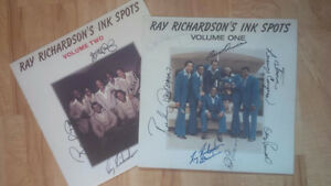Two Ray Richardson's Ink Spots - Autographed - both for $12