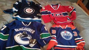 New Reebok Hockey Jerseys - Canadian Teams *Great Gift