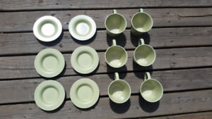 Cups & saucers - Ikea Dinera - Free delivery if