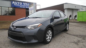 2015 Toyota Corolla CLEAN CARPROOF, LE, HEATED SEATS, CAMERA,