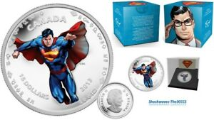 2013 Silver $15 Modern Day Superman 1/2 oz Coin 75th Anniversary