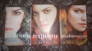 BOOK SALE - Delirium Book Set (3 Books)