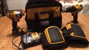Ensemble drill dewalt 20 volt