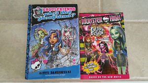 Monster High Books
