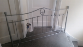 Headboard for a standard size double bed.