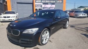 2012 BMW 7 Series 2012 BMW M PACKAGE/ xDrive AWD/DVD/NAVI/ LOW K