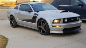 Turbocharged 2005 mustang GT