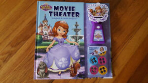 brand new sofia the first storybook movie theatre