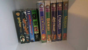 Vhs tapes 2$ each