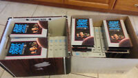 """STAR TREK VHS's """"The Next Generation"""" by Columbia House"""