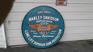 Harley davidson sighned sighn