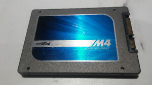 Crucial m4 256GB 2.5-Inch (9.5mm) SATA 6Gb/s Solid State Drive