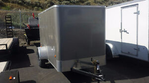 5' x 10' Enclosed Cargo Trailer. Lowest prices of the year!
