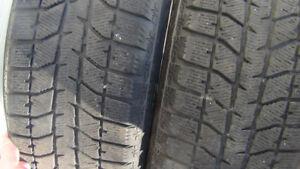 215 60 16 Winter Tires Bridgestone Blizzak WS70