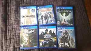 PS4 Games! (see description for prices)