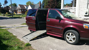 2009 Chevrolet Uplander Handicap Conversion Van