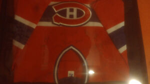 Montreal Canadians jersey autographed