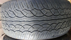 2 used SUV tires Yokohama 285/50R20 80$ both