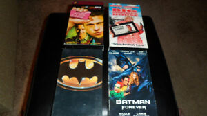 Four VHS Tapes