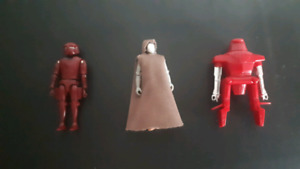 Rare vintage mego blackhole action figures