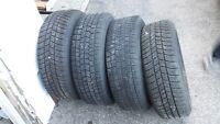 4 Winter Tires with 4 Rims for Hondas 205/65 r15