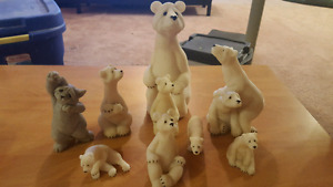 Cat and Polar Bear Quarrie Critters