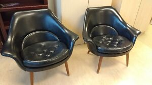 Two Mid-Century Modern Chairs