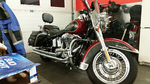 Mint condition heritage softail… need gone