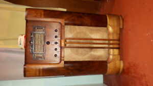 Antique Floor Radio 1937