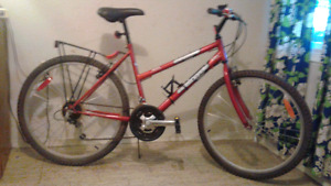 Hi.  Adult MT Bike 18 sp  Female A-I