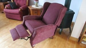 chaise bergere inclinable