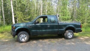 2008 FORD F 250 4X4