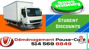 Déménagement professionnel, Grand-Montréal-BON PRIX 514-569-8849