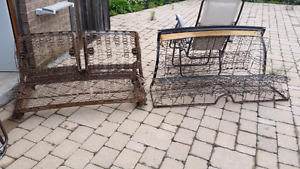 1955 Chevy Front and Rear Seat Frames only $1300 obo
