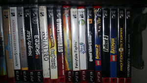 Assorted PS3 Games $5 each