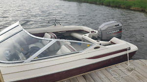 1995 MAXUM 1700 WITH 1995 MARINER 6CYL OUTBOARD