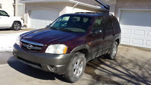 2001 Mazda Tribute cloth interior SUV, Crossover