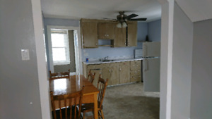 AVAILABLE IMMEDIATELY FURNISHED upstairs one bedroom appartment